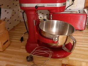 Kitchenaid mix master