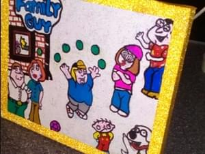 FAMILY GUY CANVAS