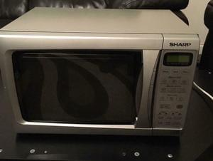 Microwave, 800W, Gray. Sharp Brand